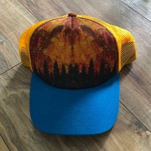 BUFF Yellow Trucker Hat